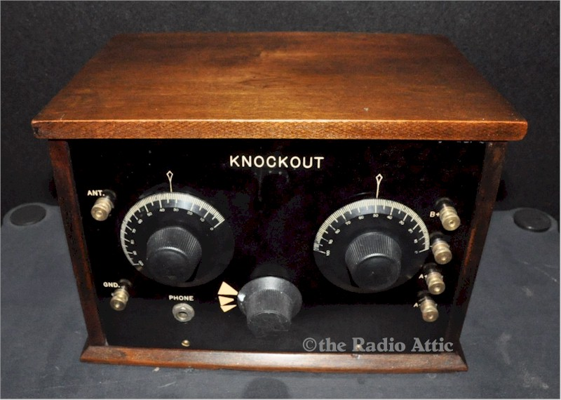 Knockout Regenerative Receiver (circa 1928)