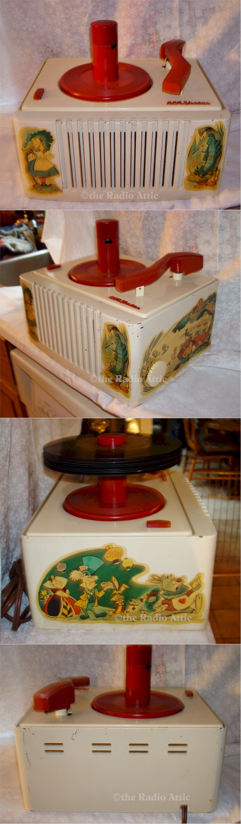 "RCA 45EY-26 ""Alice in Wonderland"" 45rpm Phonograph (1951)"