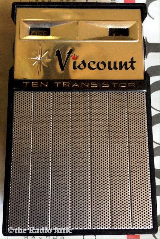 Viscount Ten Transistor Radio