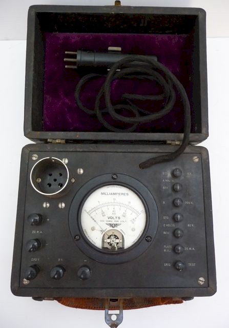 Jewell Tube Tester Radio Test Set