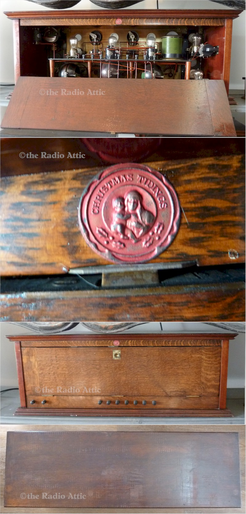 Over the Top One-Off Antique Radio Receiver