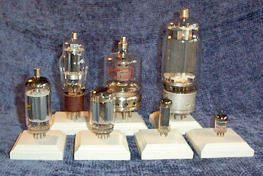 Display Vacuum Tubes