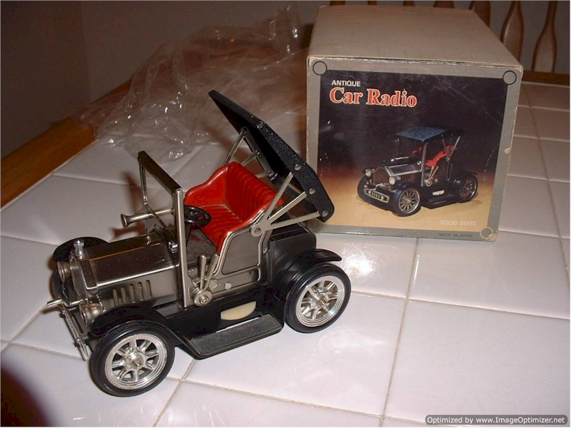 Antique Car Transistor Novelty Radio