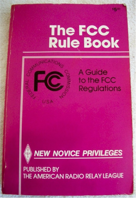 ARRL FCC Rule Book, 7th Edition (1987)