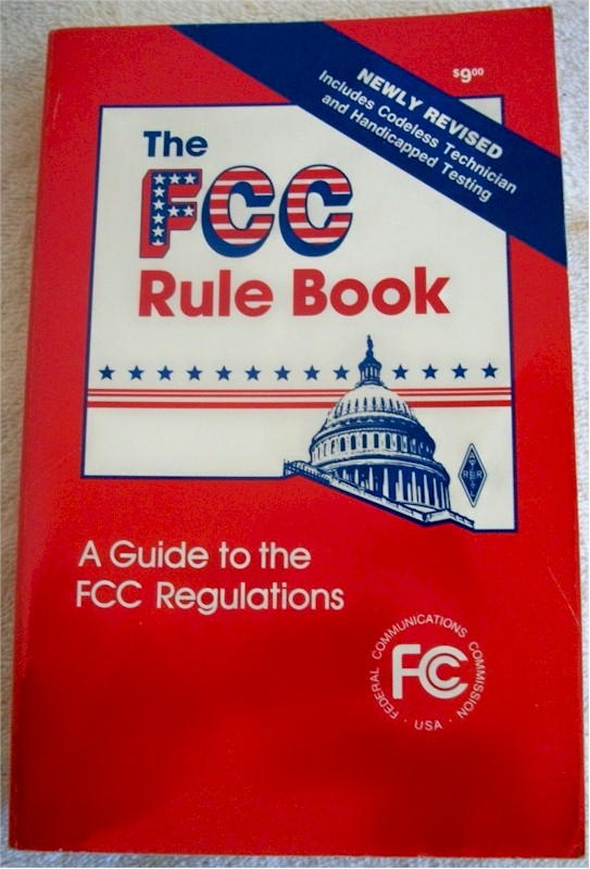 ARRL FCC Rule Book, 8th Edition (1989)