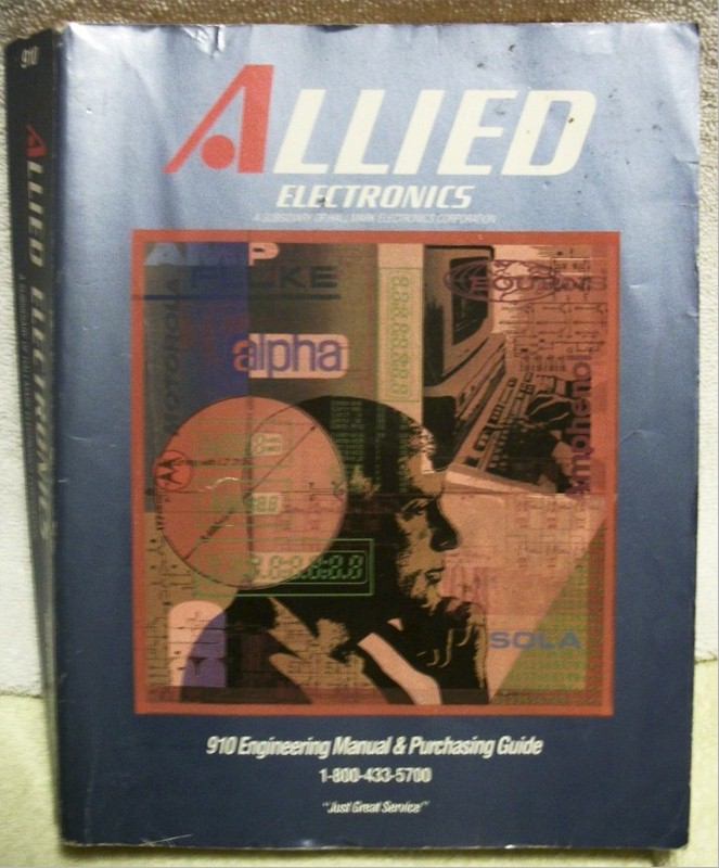 Book: Allied Electronic Catalog (1991)