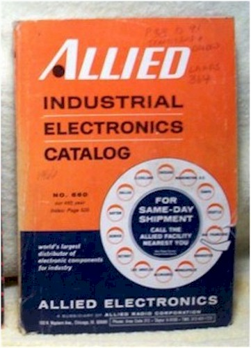 Allied Industrial Electronics Cat. 660