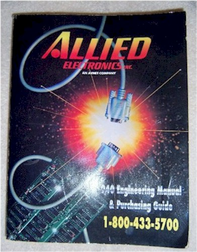 Allied Electronics Catalog 940