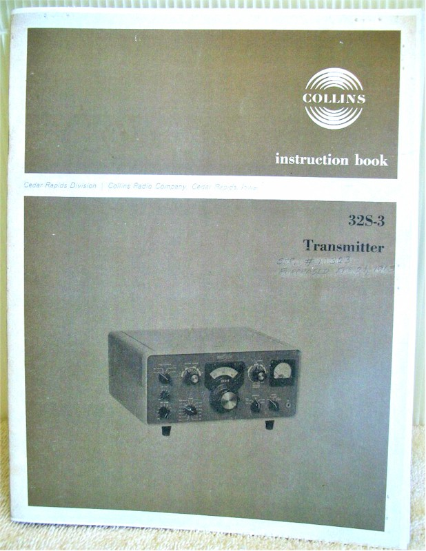 Collins 32S-3 Instruction Manual