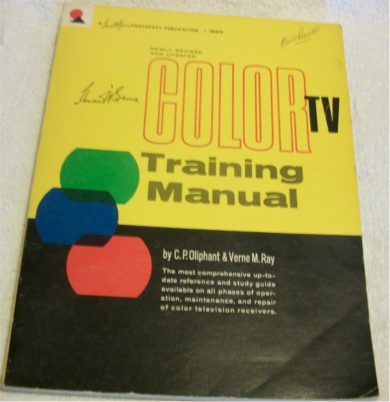 Book: Color TV Training Manual