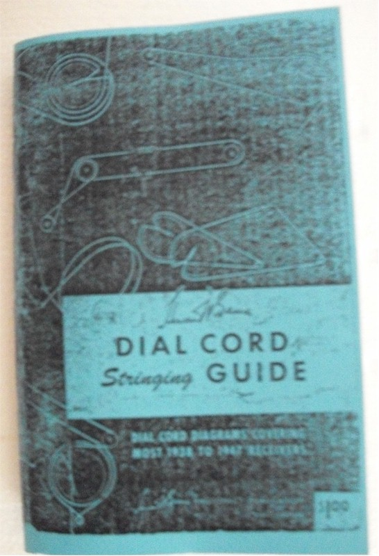 Book: Dial Cord Stringing Guide, Vol. 1