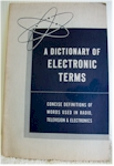 A Dictionary of Electronic Terms (1959)