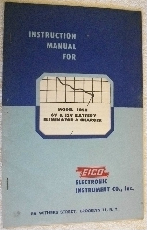 Eico 1040 Instruction Manual