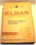 Elmar Electronics Catalog, 25th. Edition (1961)