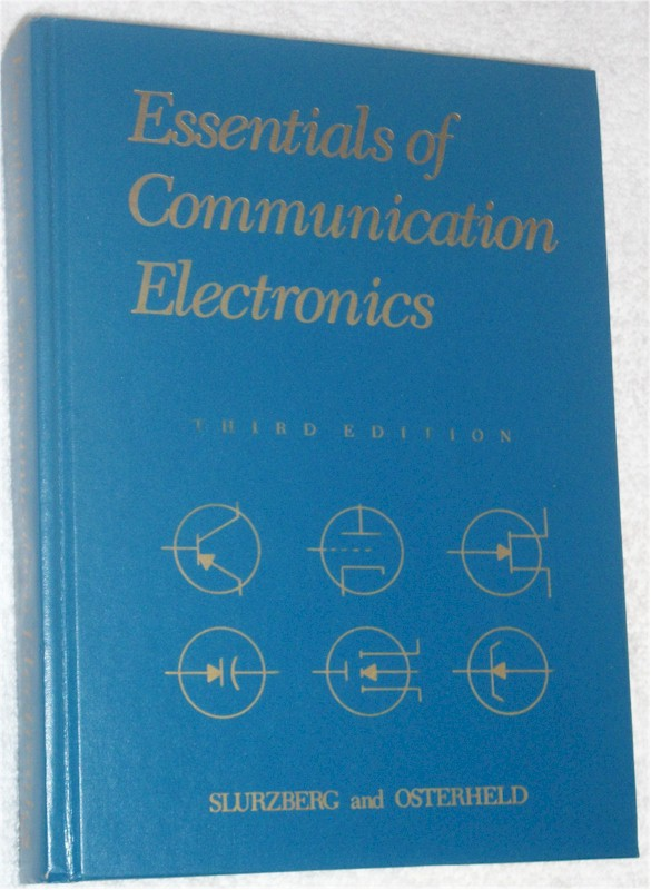 Book: Essentials of Communication Electronics