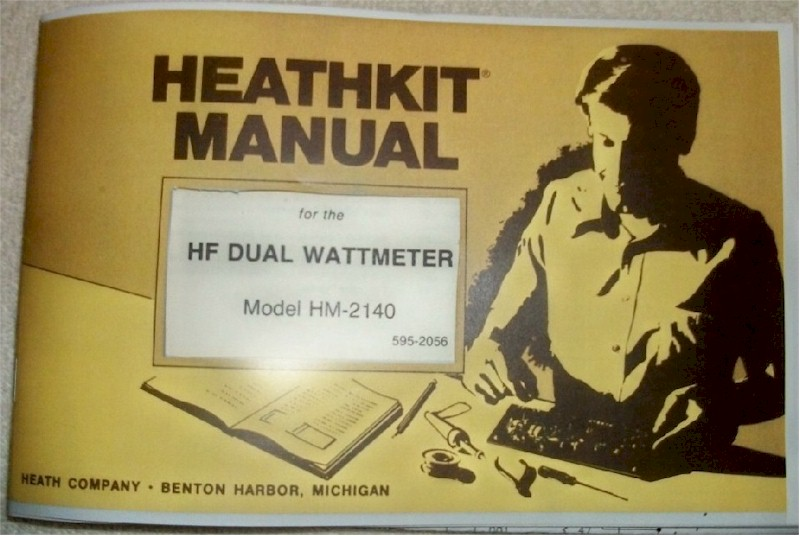 Heathkit HM-2140 HF Dual Wattmeter Manual