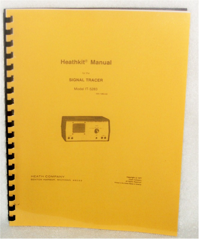 Heathkit IT-5283 Manual