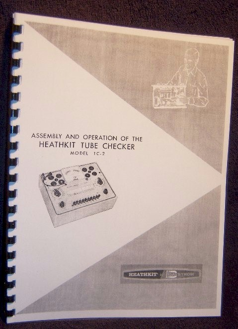 Heathkit TC-2 Tube Checker Manual