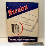 Hickok 195B Oscilloscope Manual