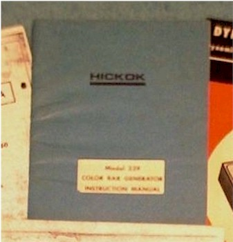 Hickok 239 Color Bar Generator Manual