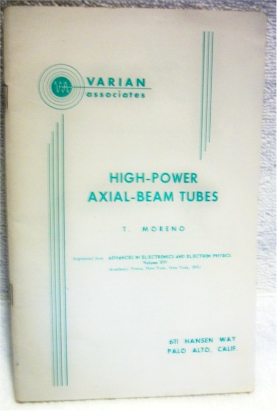 Book: High-Power Axial-Beam Tubes