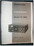 Kenwood TS-180S Operating Manual