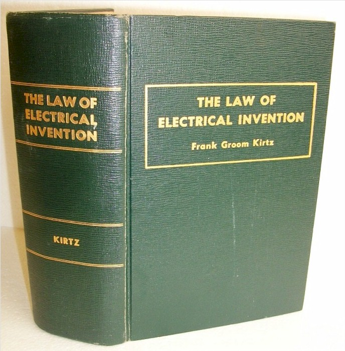 Book: The Law of Electrical Invention
