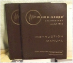 Memo-Scope 104E Oscilloscope Instruction Manual
