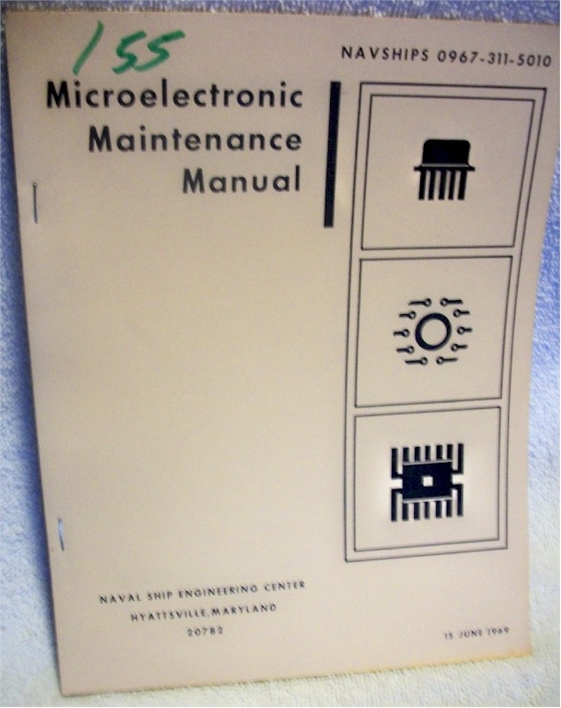 Book: Microelectronic Maintenance Manual
