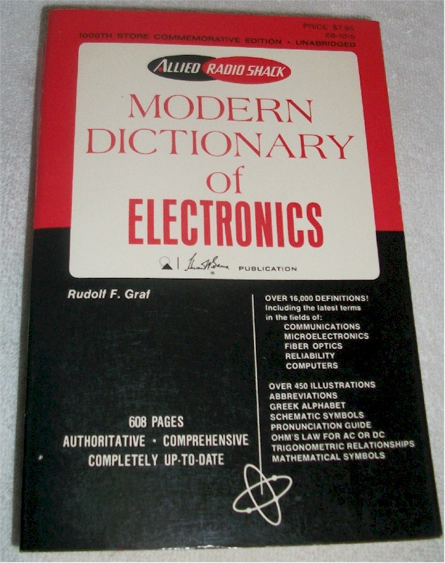 Book: Modern Dictionary of Electronics