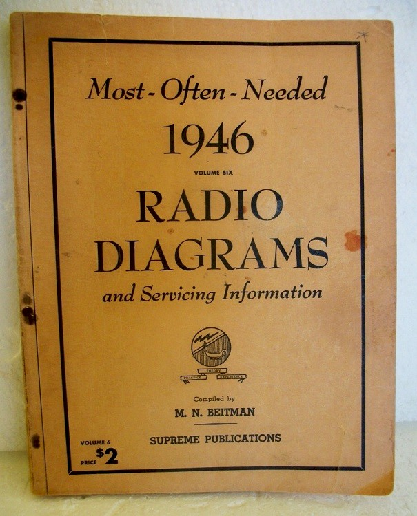 Most Often Needed Radio Diagrams (1946)