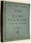Most Often Needed Radio Diagrams 1939