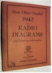 Most Often Needed Radio Diagrams 1942