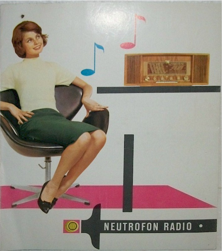 Neutrofon Radio Pamphlet (1961)