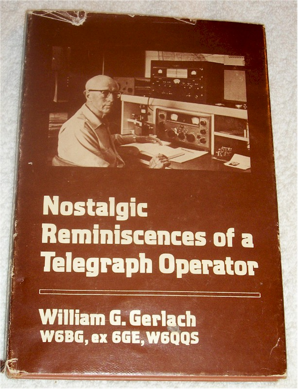 Book: Nostalgic Reminiscences of a Telegraph Operator