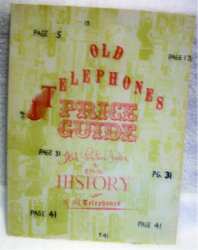 Book: Old Telephones Price Guide
