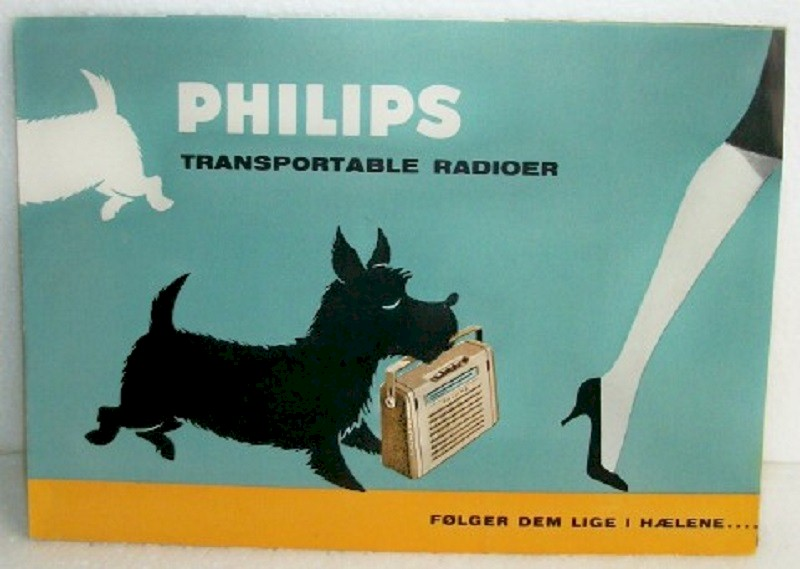 Philips Portable Radio - Pamphlet (1959)