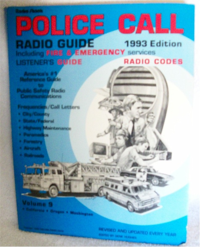 Police Call Radio Guide Vol. 9
