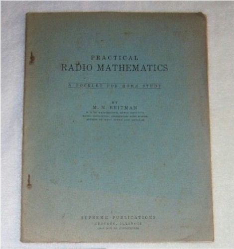 Practical Radio Mathematics