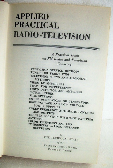 Book: Practical Television Servicing and Trouble Shooting Manual #5