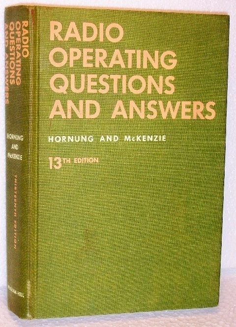 Book: Radio Operating Questions & Answers