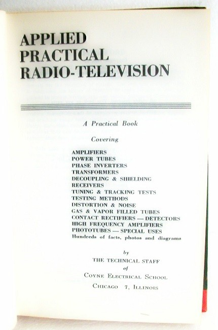 Radio and Television Circuits