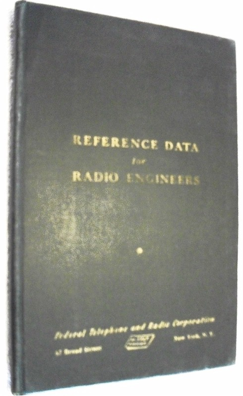 Book: Reference Data for Radio Engineers