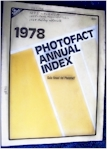 Sams Photofact Annual Index 1978