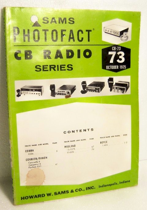 Sams CB Radio Photofact Series