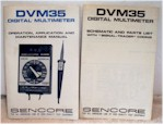 Sencore DVM35 Digital Multimeter Operating Manual