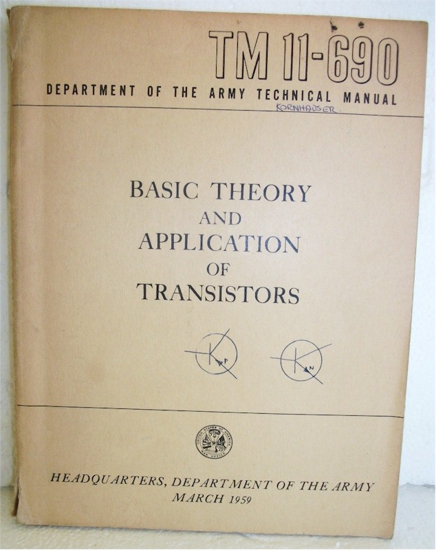 Basic Theory and Application of Transistors