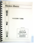 Western Electric Vacuum Tubes Manual, 2nd Edition (1933)