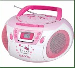 Hello Kitty Boom Box