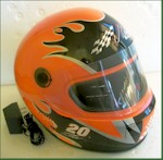 Joe Gibbs Racing Helmet Radio/CD